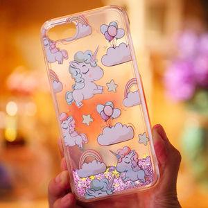 Quicksand Liquid Unicorn Hard Case Iphone 7/8 Plus